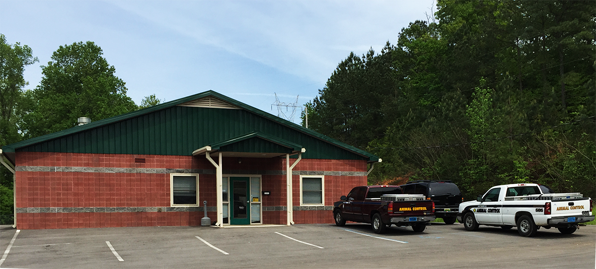 The Scottsboro Animal Shelter Building