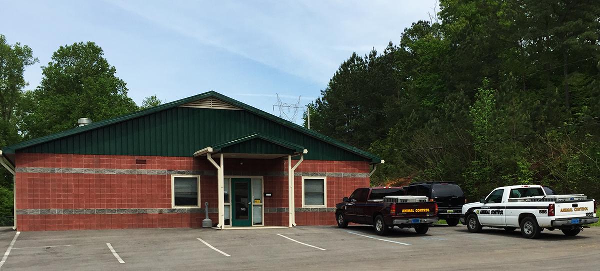 The Scottsboro Animal Shelter Building