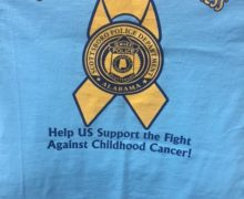 SCOTTSBORO POLICE DEPARTMENT CHILDHOOD CANCER FUND RAISER