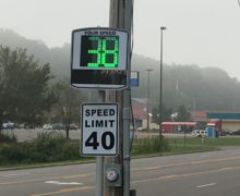 New RADAR Speed Limit Signs