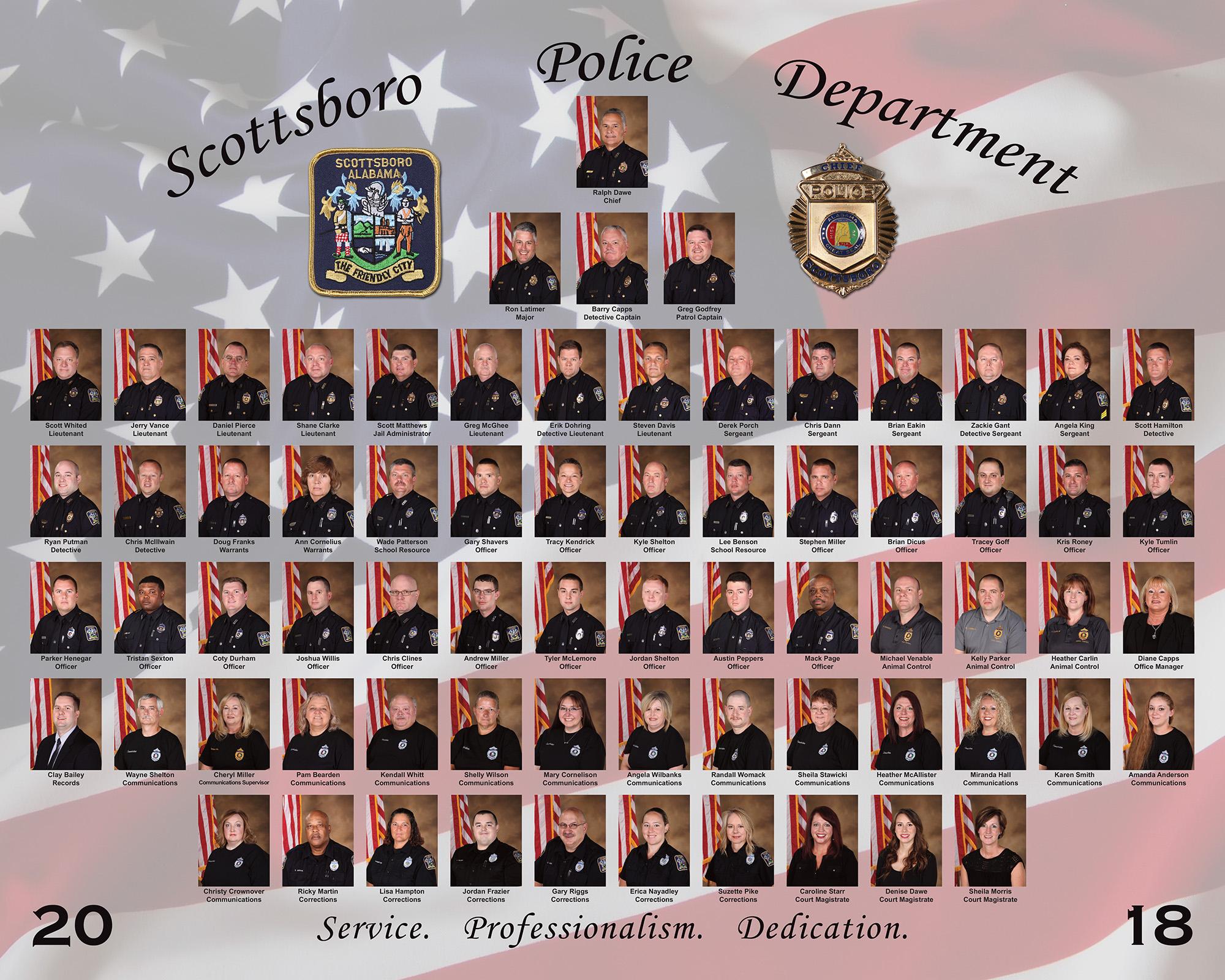 Divisions - Scottsboro Police DepartmentScottsboro Police