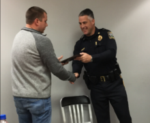 SCOTTSBORO POLICE OFFICERS RECEIVE AWARDS