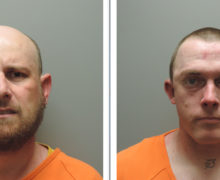 TWO ARRESTED AFTER VEHICLE PURSUIT